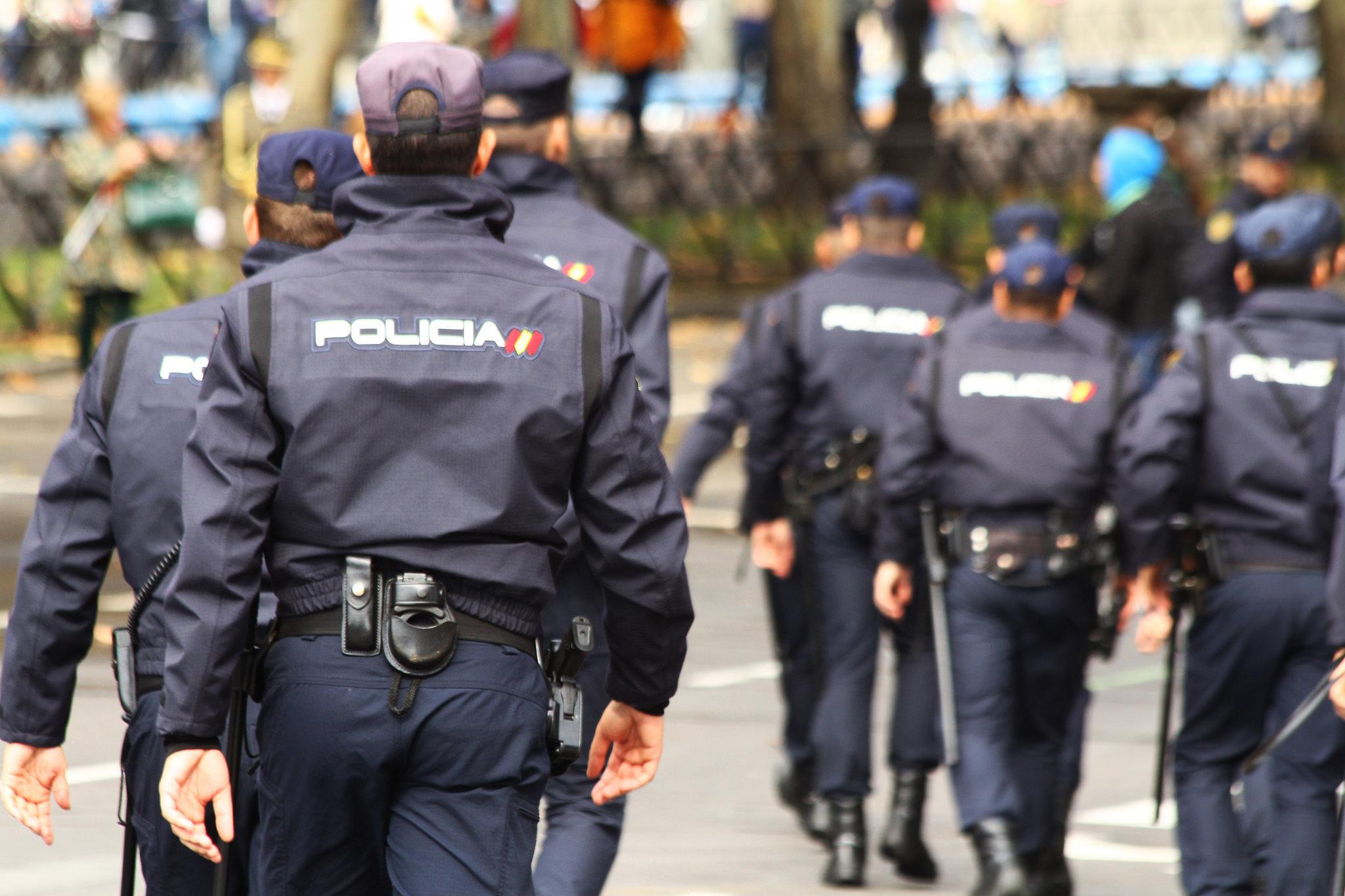 Resultado de imagen de fotos policía nacional