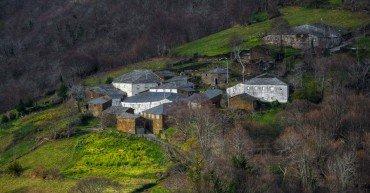 Little mountain village in the Courel Range, Quiroga, Galicia