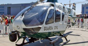 Helicóptero de la Guardia Civil