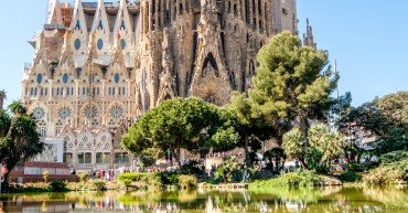 Sagrada Familia - Catholic church in Barcelona, Catalonia